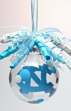 UNC Tarheels<br>Ornament