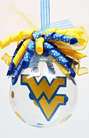 West Virginia Mountaineers<br>Ornament
