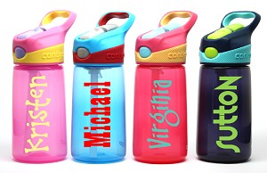Name/Phrase Personalization:<br>14oz Kid's Water Bottle