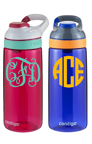 Monogrammed<br>20oz Big Kid's Water Bottle