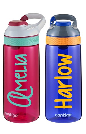 Name/Phrase Personalization:<br>20oz Big Kid's Water Bottle