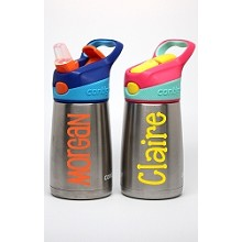 Name/Phrase Personalization:<br>10oz Insulated Metal Kid's Water Bottle