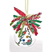 Colorful Decorated Tree<br>Ornament