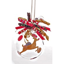 Rudolph Leaping<br>Ornament