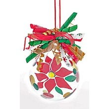 Poinsettia<br>Ornament