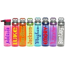 Name/Phrase Personalization:<br>24oz Water Bottle